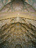 Nasir-al Molk Mosque, Muqarnas Vault (detail), Shiraz, Iran