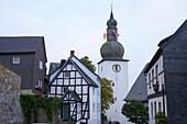 Outdoor Photo, Early autumn, Evening, Old city of Arnsberg, Sauerland, North Rhine - Westfalia, Germany, Europe