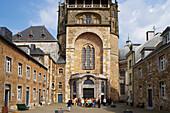 indoor photo, day, Aachen Catherdal,  Aachen, North Rhine-Westphalia, Germany, Europe
