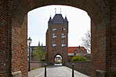Klever Tor in Xanten., Frühling, Tag, Niederrhein, Nordrhein-Westfalen, Deutschland, Europa