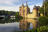 Satzvey castle, Mechernich, Eifel, North Rhine-Westphalia, Germany
