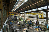AEG Siemens turbine hall Berlin, industrial architecture, Moabit, Berlin