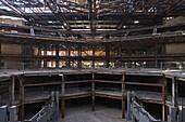 Abriss und Rückbau des Palast der Republik, 2006, Stahlkonstruktion, Berlin