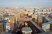 panorama viewing platform, Kollhoff Tower, Potsdamer Platz, Berlin, Germany