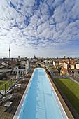 Roof pool, Berlin, Germany