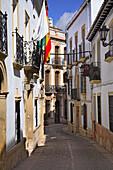 Street scene, Calle Tenoria, Ronda, Andalucia, Spain
