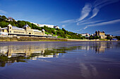 The Spa and Grand Hotel in South Bay, Scarborough, Yorkshire, UK, England