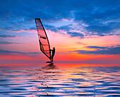 Windsurfer, Water Sports, Leisure & Activities