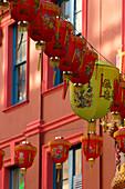 Chinese New Year, lanterns, London, UK, England