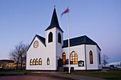 Norwegian Church in Cardiff Bay, Cardiff, South Glamorgan, UK, Wales