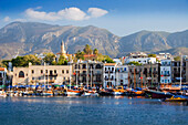Harbour view, Kyrenia, North, Cyprus