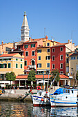 Old town and harbour, Rovinj, Istria, Croatia