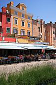 Restaurant in old town, Rovinj, Istria, Croatia
