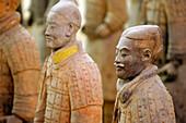 Terracotta warriors, Shaanxi, China