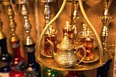 Apple tea in the bazaar, Food and Drink, Turkey