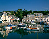 Harbour scene, Padstow, Cornwall, UK, England