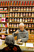 Chinese drugstore in Chinatown, Vancouver City, Canada, North America