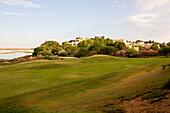 Golf course, Laguna at the Ria Formosa, Quinta da Lago, Algarve, Portugal