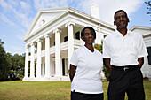 Employees of Madewood Plantation in Napoleonville, Louisiana, USA