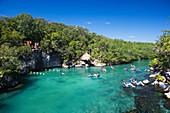 Aquapark Xel-Ha, State of Quintana Roo, Peninsula Yucatan, Mexico