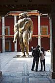 La Giganta in the patio of the Museo Jose Luis Cuevas, contemporary art, in the old Convento de Santa Ines, 16th century, Mexico City, Mexico D.F., Mexico