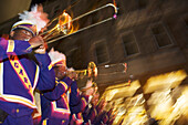 Brass Parade in the French Quarter, New Orleans, Louisiana, USA