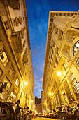 Palaces along Corso Italia, Trieste, Friuli-Venezia Giulia, Upper Italy, Italy