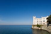 Miramare castle, Trieste, Friuli-Venezia Giulia, Upper Italy, Italy