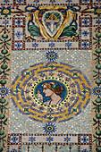 Mosaic Facade of the Palazzo del Governo, Trieste, Friuli-Venezia Giulia, Upper Italy, Italy