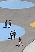 Pedestrian area,  Expo Zaragoza 2008. Zaragoza,  Aragon,  Spain