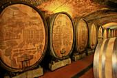 Wine cellar,  Stuttgart. Baden-Württemberg,  Germany