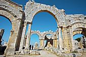 St. Simeon basilica (5th century),  Qal´at Samaan located near Aleppo,  Syria