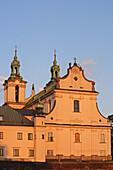 Kazimierz historic district, Church and convent of Pauline, former Jewish Quarter, Cracow,  Krakow, Poland