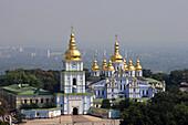 St Michael of the Golden Cupolas monastery, Kiev, Ukraine