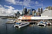 AUSTRALIA - New South Wales (NSW) - Sydney: City Skyline from Darling Harbour