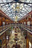 AUSTRALIA - Queensland - Brisbane: 19th century Brisbane Arcade Shopping Mall