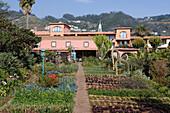 Vegetable Garden at the Quinta Splendida Wellness and Botanical Garden Resort, Canico, Madeira, Portugal