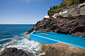 Seawater swimming pool at Reid's Palace Hotel, Funchal, Madeira, Portugal