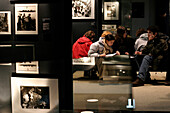 School Tours, Exhibition On The Allied Force'S Attack, Caen Memorial, Site Of The June 6, 1944 D-Day Landings, Calvados (14), Normandy, France