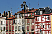 Moulis House. Of Renaissance Origin, It Is The Most Representative Of Half-Timbered Buildings In Bayonne, Basque Country, Basque Coast, Bayonne, Pyrenees-Atlantique (64), France