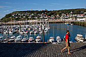 Boats In The Marina Of Fecamp, Seine-Maritime (76), Normandy, France