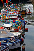 Decoration Of Fishermen'S Boats, Festival Of The Sea, Le Havre, Seine-Maritime (76), Normandy, France