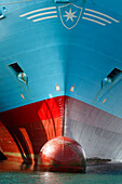 Bulbous Bow Of The Stem Of A Ship, Commercial Port, Le Havre, Seine-Maritime (76), Normandy, France