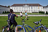 Schloss (Castle) Bellevue, Built In 1785, Presidential Residence, Berlin, Germany