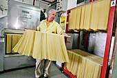 Dino Martelli, Traditionally§made Pastas (Spaghetti, Penne, Spaghettini, Macaroni) Martelli Family Enterprise Since 1926, Lari, Near Pisa, Tuscany, Italy