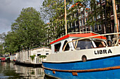 Houseboat, Boat Ride On The Canals, Amsterdam, Netherlands