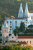Museum Of Modern Art And National Palace Of Sintra (Palacio National De Sintra), Sintra, Portugal