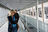 exhibition in the Skywalk at the Lumix Festival for Young Photojournalism in Hannover, University of Applied Sciences and Arts, HanoverLower Saxony, Germany