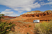Camper, Capitol Reef National Park, Utah, USA