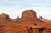 Navajo Indian, Monument Valley, Navajo Tribal Lands, Utah, USA